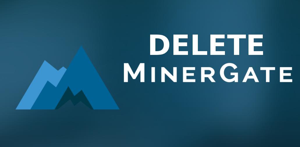 Eliminar Minergate