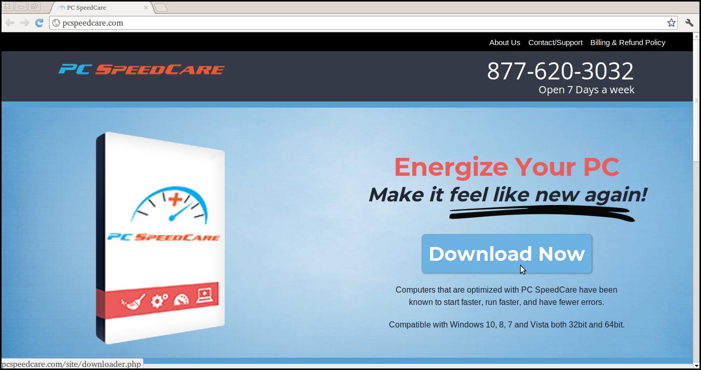 Löschen Sie PC SpeedCare