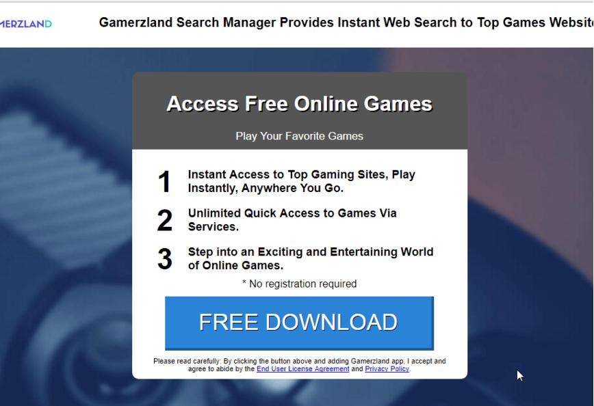 remove GamerzLand