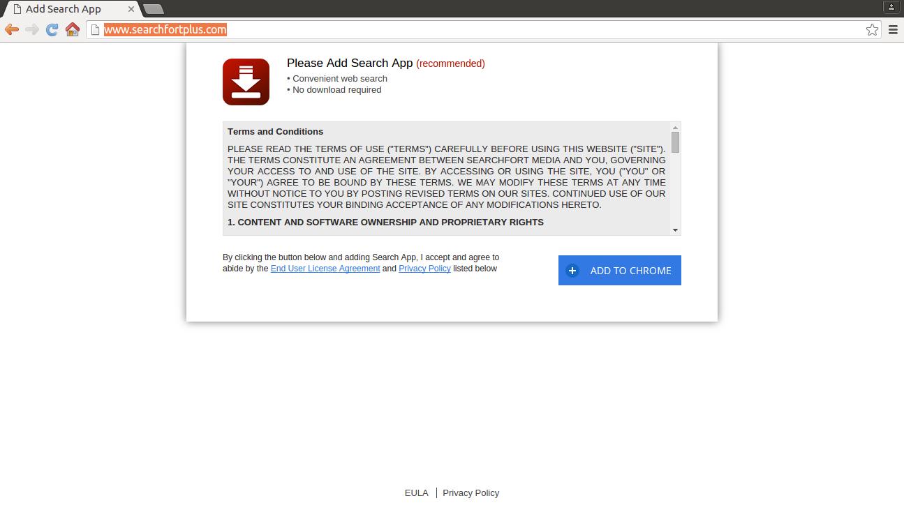 remove Searchfortplus.com