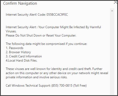 Delete Code 055BCCAC9FEC