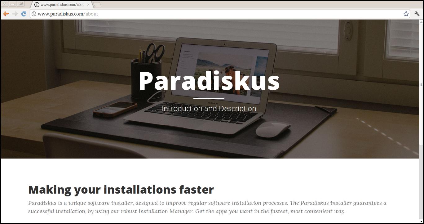 Usuń Paradiskus.com