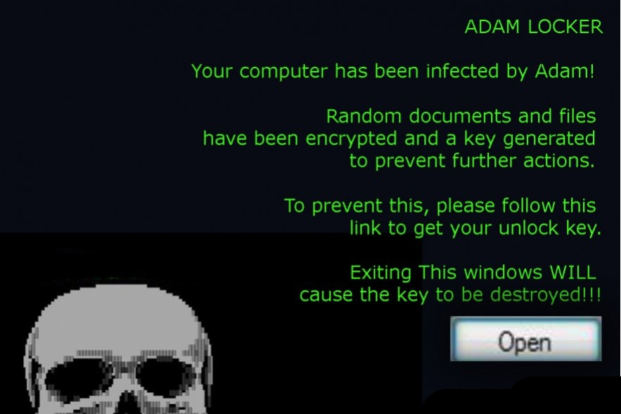 .adam extension virus