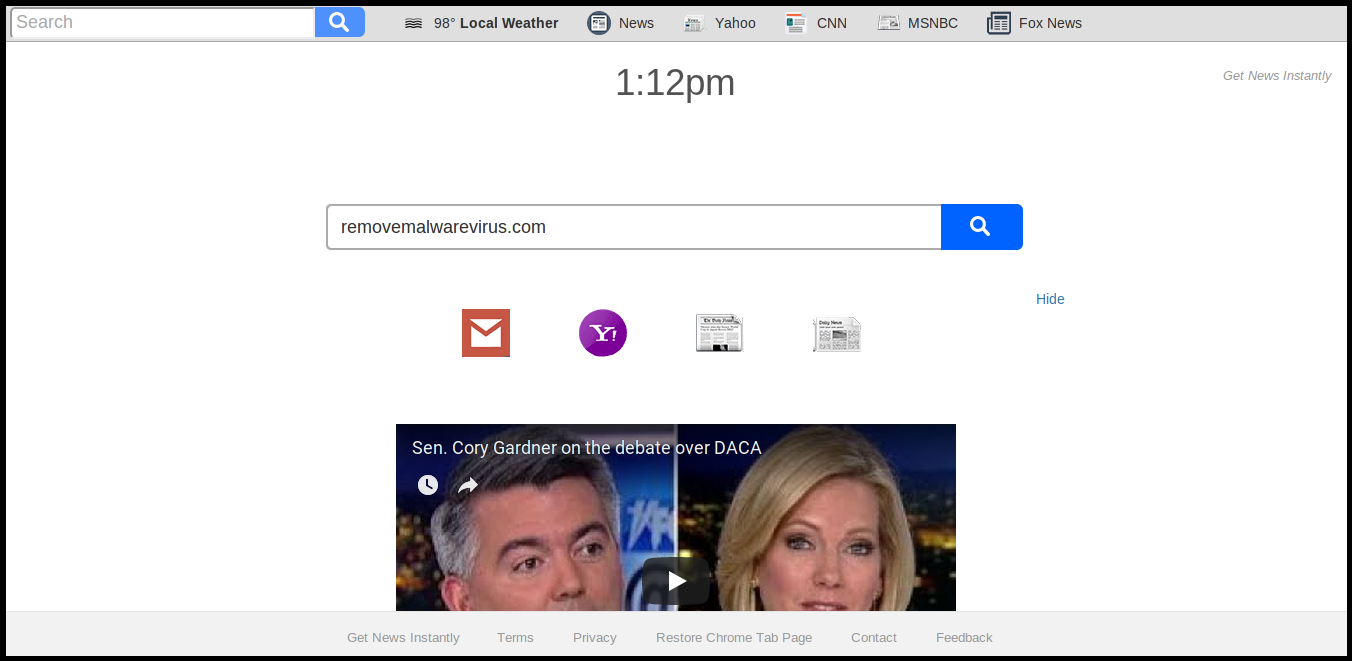 Get News Instantly Extension