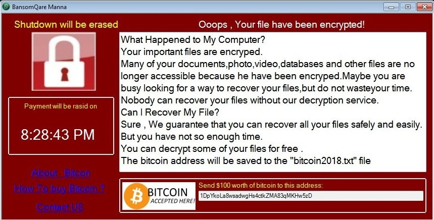 how to get rid of the ransom virus