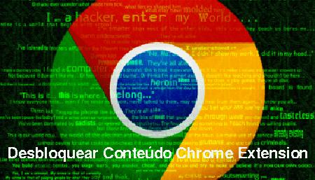 Supprimer l'extension Chrome de Desbloquear Conteúdo