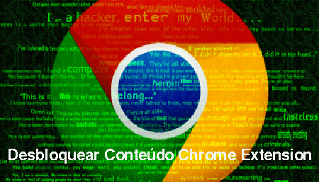 Delete Desbloquear Conteúdo Chrome Extension