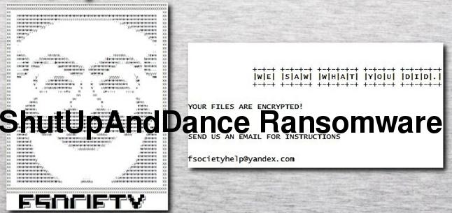 Eliminar ShutUpAndDance Ransomware