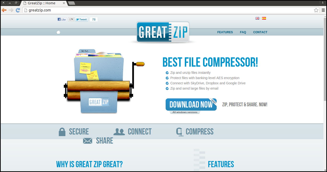 Delete GreatZip