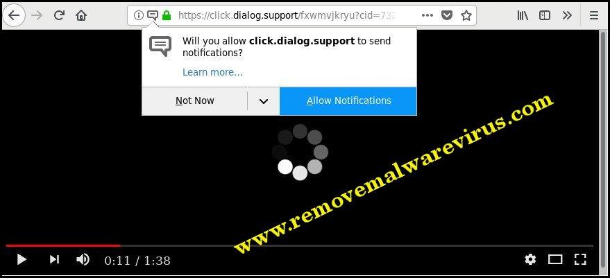 Elimina Click.dialog.support