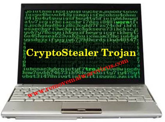 Elimina CryptoStealer Trojan