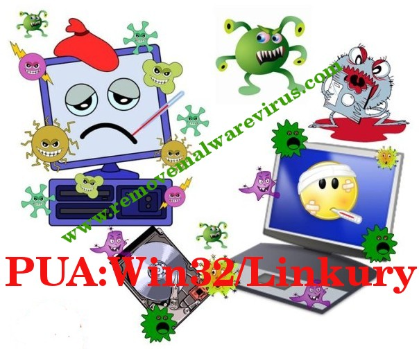 Elimina PUA: Win32 / Linkury