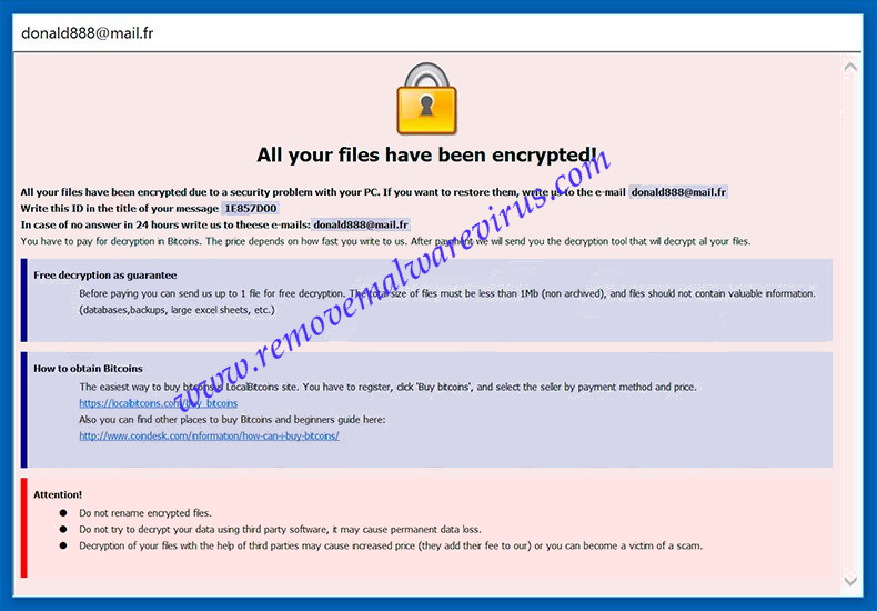 A Complete Removal Tutorial For 888 Ransomware - Remove Malware Virus