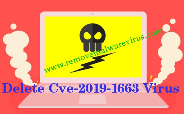 Supprimer le virus Cve-2019-1663