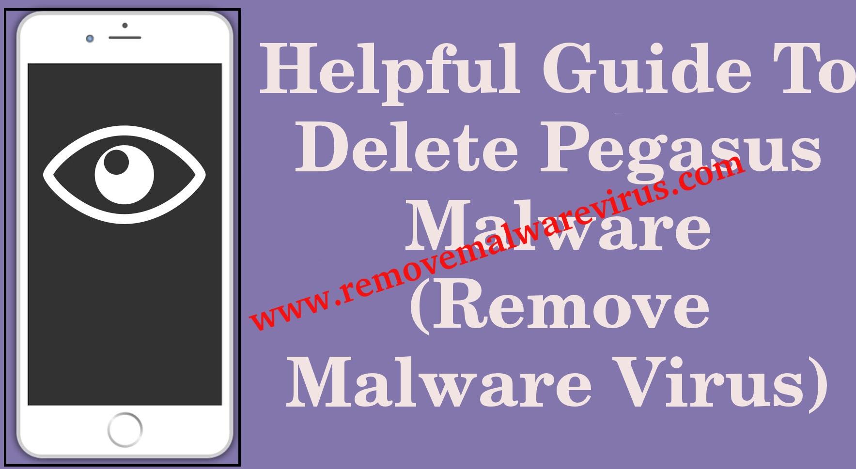 Eliminar Pegasus Malware