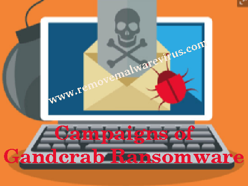 Campaigns of Gandcrab Ransomware