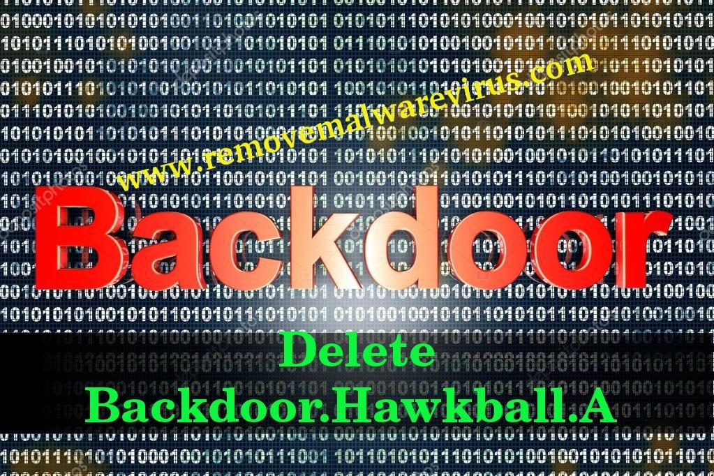 Delete Backdoor.Hawkball.A