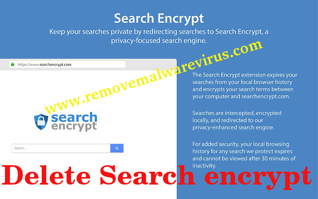 Delete Search encrypt