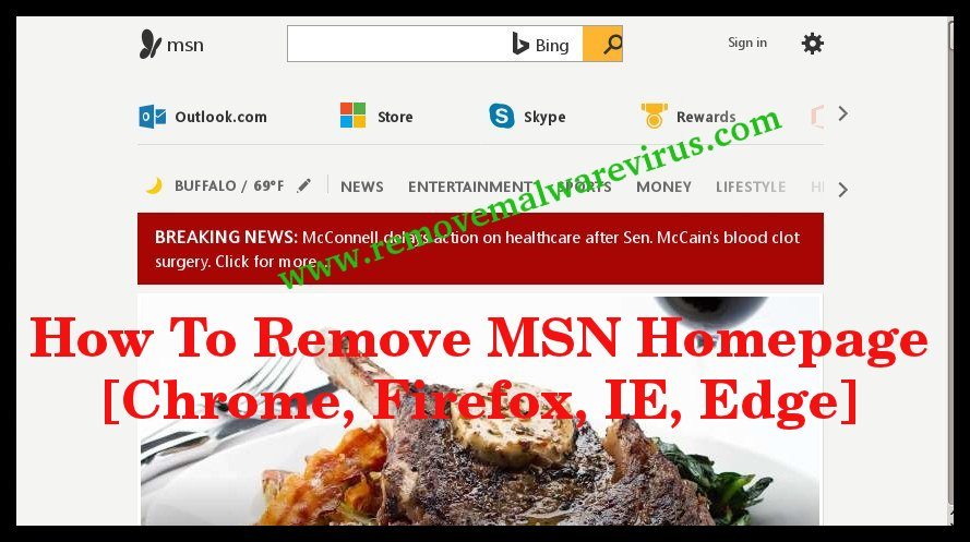 How To Remove MSN Homepage [Chrome, Firefox, IE, Edge]