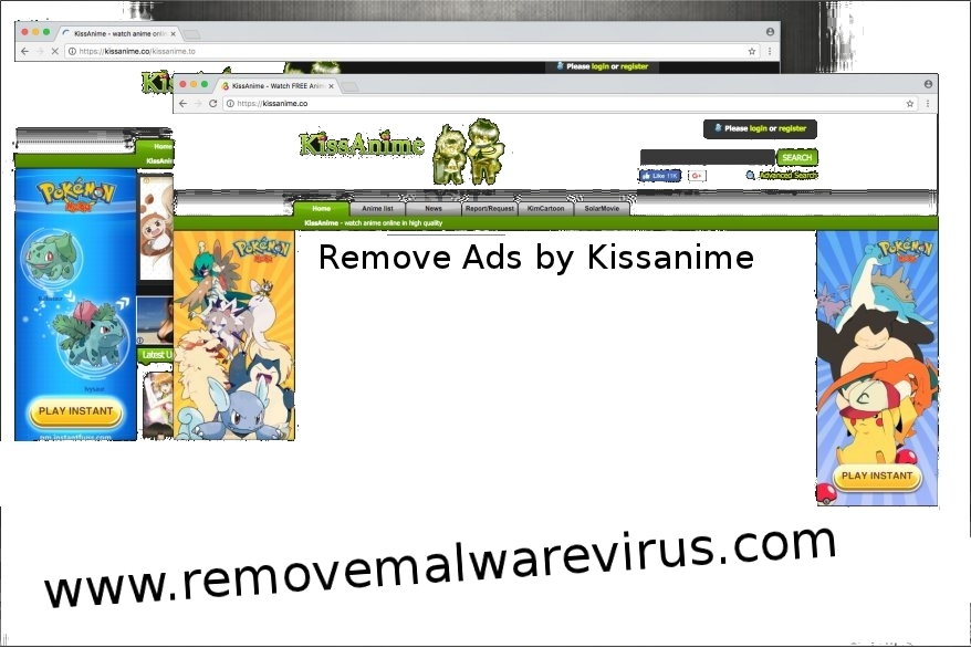 Ads by Kissanime 1 How To Get Rid Of Ads by Kissanime From PC