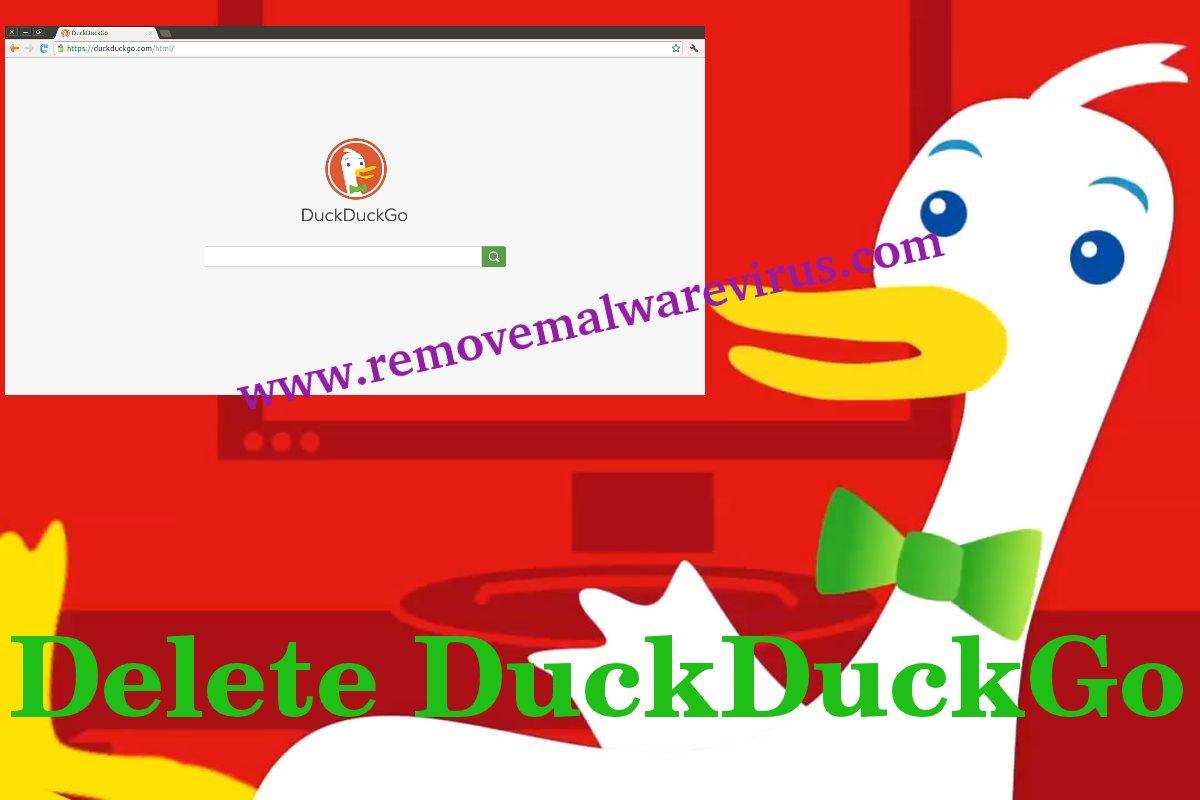 Delete DuckDuckGo