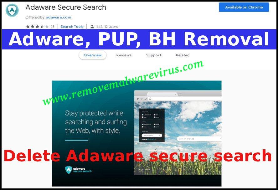 Eliminar la búsqueda segura de Adaware