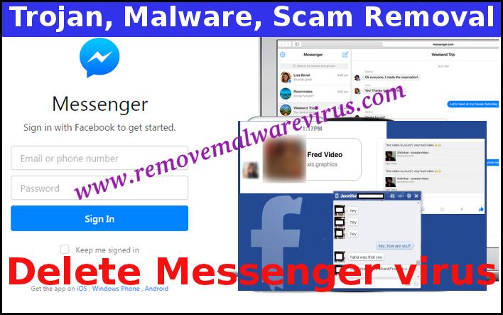 Eliminar el virus Messenger