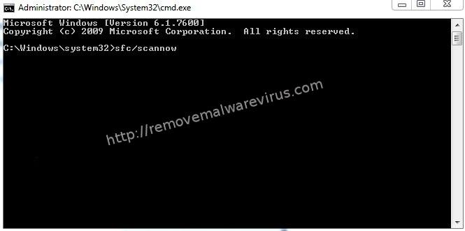 use sfc scannow Best Solution To Resolve Windows update error 0x80070020