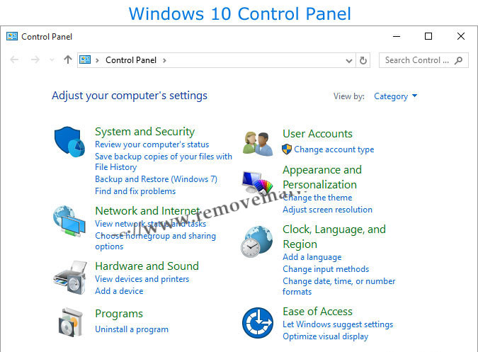 control panel Resolve Bluetooth Not Available Issue On Windows 10