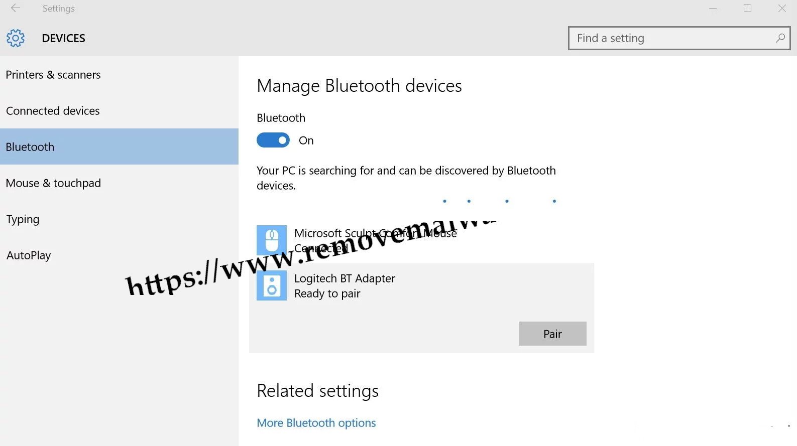 pair bluetooth windows 10 Resolve Bluetooth Not Available Issue On Windows 10