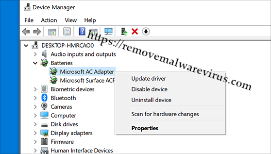 update device driver Resolve APC_INDEX_MISMATCH BSOD on Windows 10