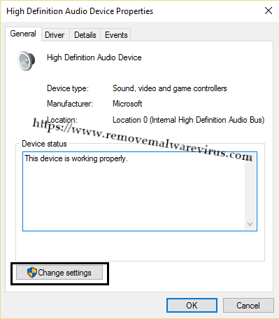 High Definition Audio Device Properties (Resolved) Headphones Not Working In Windows 10