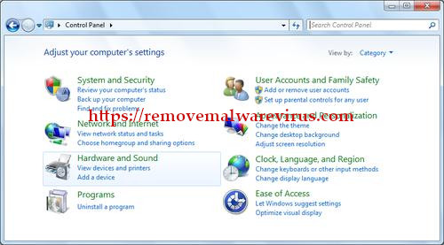 control panel Best Method To Fix The Javaw.exe Error On Windows