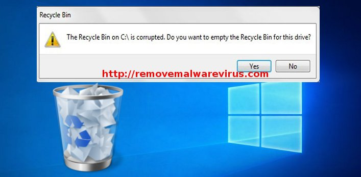 recycle bin error Resolve The Recycle Bin on C:/ is corrupted Error on Windows 10